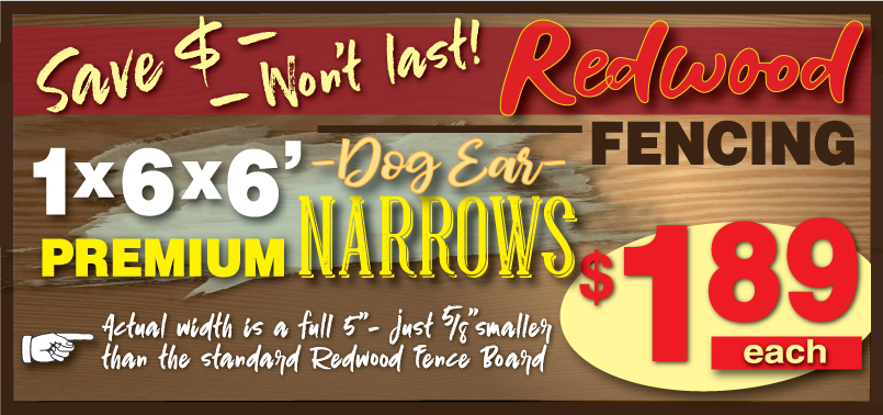 Narrow Fence Boards 08