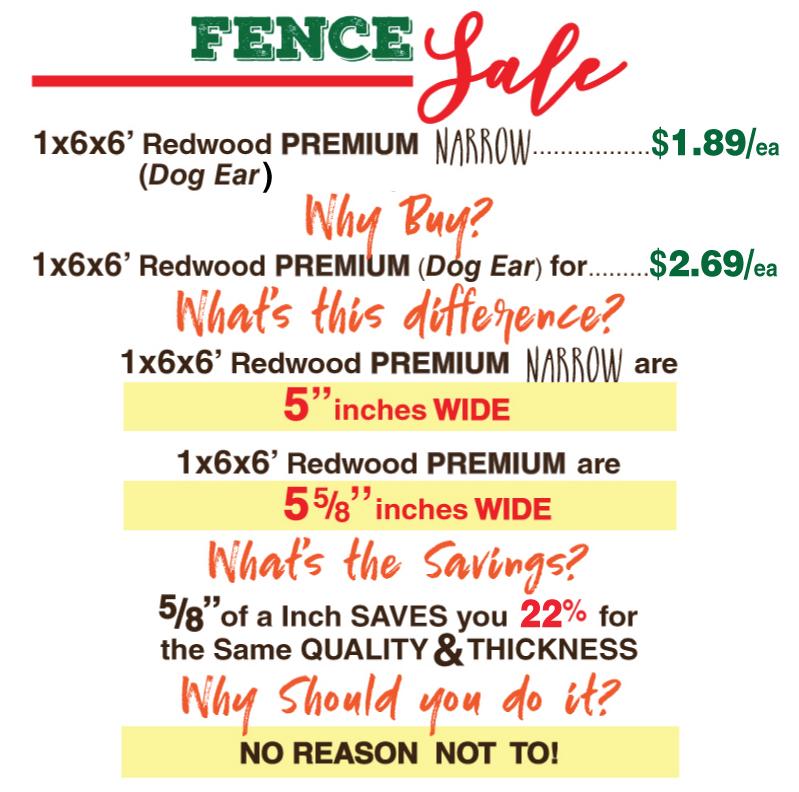 Fencing Sale 08