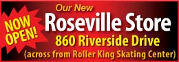 Our Roseville store is now open